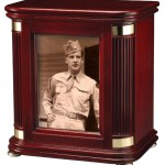 Picture Frame Chest Urn