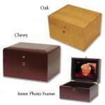 Memorial Chest and Scattering Urn